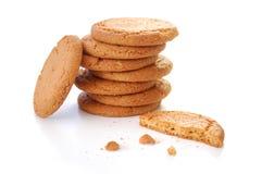 De koekjes van de gember stock fotografie