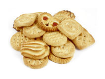 De koekjes van de groep Royalty-vrije Stock Foto