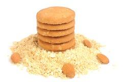 De koekjes van de haver Royalty-vrije Stock Foto