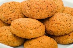 De koekjes van de haver Stock Foto's