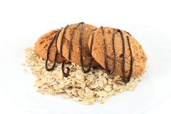 De koekjes van de haver Stock Fotografie