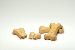 De Koekjes van de hond Stock Afbeeldingen