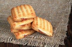 De koekjes van de koekjeszandkoek stock fotografie