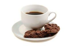 De koekjes van de koffie en van de chocolade Royalty-vrije Stock Afbeelding