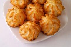 De koekjes van de kokosnoot Royalty-vrije Stock Foto's