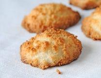 De koekjes van de kokosnoot Royalty-vrije Stock Fotografie