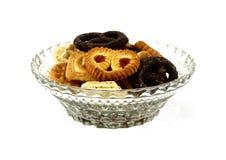 De koekjes van de kom Royalty-vrije Stock Fotografie