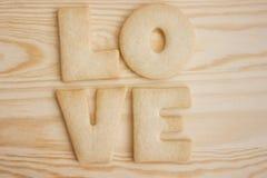 De koekjes van de liefde Royalty-vrije Stock Foto
