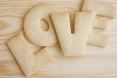 De koekjes van de liefde Stock Foto's