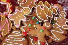 De koekjes van de peperkoek Royalty-vrije Stock Afbeelding