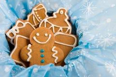 De koekjes van de peperkoek stock foto