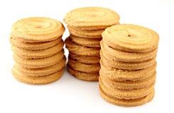 De koekjes van de suiker Stock Afbeeldingen