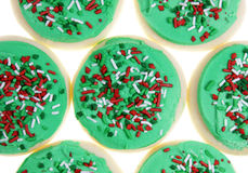 De Koekjes van de Suiker van Kerstmis Stock Afbeeldingen