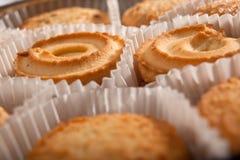 De koekjes van de vakantie op wit Royalty-vrije Stock Foto