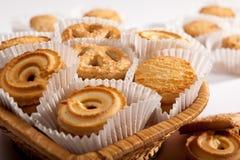 De koekjes van de vakantie op wit Royalty-vrije Stock Afbeelding
