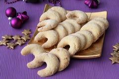 De koekjes van de vanille Royalty-vrije Stock Afbeeldingen