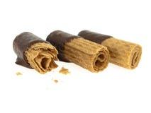 De koekjes van de wafel oups! Stock Foto