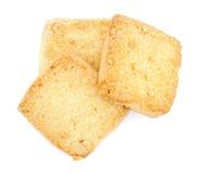 De koekjes van de zandkoek Stock Fotografie
