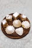 De koekjes van Delicous Stock Foto's