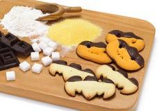 De koekjes van Halloween Stock Afbeeldingen
