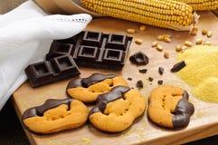 De koekjes van Halloween Royalty-vrije Stock Afbeeldingen