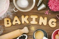 De koekjes van het baksel Stock Foto