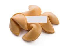 De koekjes van het fortuin stock afbeelding