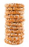 De koekjes van het havermeel Stock Foto