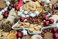 De koekjes van Kerstmis Royalty-vrije Stock Foto's