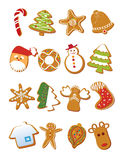 De koekjes van Kerstmis Royalty-vrije Illustratie