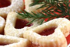 De koekjes van Kerstmis Royalty-vrije Stock Afbeelding