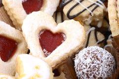 De koekjes van Kerstmis stock afbeeldingen
