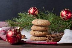 De koekjes van Kerstmis Stock Fotografie