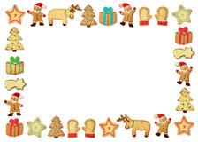 De koekjes van Kerstmis gingerbead Royalty-vrije Stock Fotografie