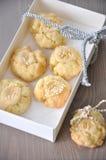 De Koekjes van Kerstmis van de karamel Royalty-vrije Stock Afbeeldingen