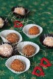 De koekjes van Kerstmis van de wortel Royalty-vrije Stock Foto's