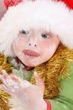 De Koekjes van Kerstmis van het baksel Stock Foto