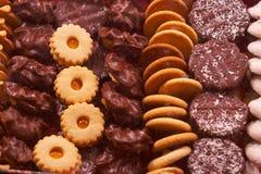 De koekjes van Kerstmis - Weihnachtskekse royalty-vrije stock fotografie