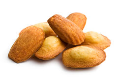 De koekjes van Madeleine Stock Afbeeldingen
