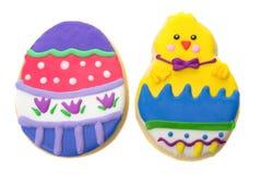 De koekjes van Pasen Stock Foto's