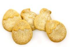 De koekjes van Pasen met suiker Royalty-vrije Stock Foto's