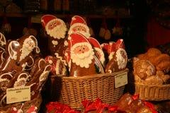De koekjes van vaderChristmas Stock Foto's