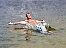 De koele Vreugde van het Water van de Zomer Stock Fotografie
