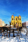 De koepel, Timisoara royalty-vrije stock foto's