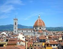 De Koepel van Brunelleschi stock foto