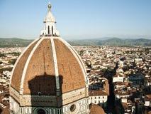 De Koepel van Brunelleschi van Campanile Stock Afbeeldingen