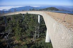 De Koepel van Clingmans - Great Smoky Mountains stock afbeeldingen