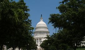 Het Capitool van de V.S. de Bouwkoepel stock afbeeldingen