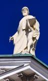 De koepel van de kathedraal in Helsinki. Stock Afbeelding