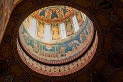 De koepel van de kerk Stock Foto's